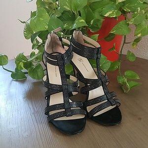 INC Renata ankle zipup heels.